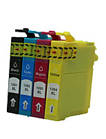 подходит для картриджа принтера группа из четырех цветов черный, красный, желтый, синий