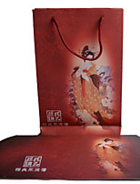 Red Color, Other Material Packaging & Shipping Scarves Box A Pack of Three