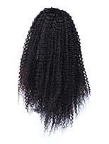 Монгольские кудрявый фигурные передние парики шнурка фронта шнурка человеческих волос для черных женщин Cara париков 14