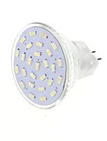 4 G4 / GU4 (MR11) LED-spotlampen MR11 27 SMD 3014 400 lm Warm wit / Koel wit Decoratief DC 12 / AC 12 V 1 stuks