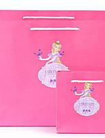 новые бумажные мешки оригинальный день подарок мешок подарочные пакеты Персонализированные святого Валентина cb15-37 танцующую принцессы