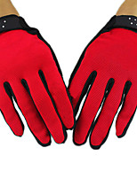 Winter Gloves Unisex Keep Warm Ski & Snowboard / Snowboarding Red / Black Canvas Free Size-Others