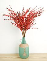 1 1 Филиал Полиэстер Другое Букеты на стол Искусственные Цветы 74CM