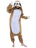 Kigurumi Caractéristiques / Mignon et câlin Polaire Collant/Combinaison Kigurumi Pyjamas Pyjamas animale Café Motif AnimalHalloween /