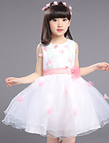 Girl's Casual/Daily Floral Dress,Others Summer Pink / Purple