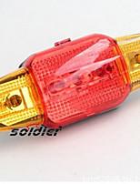 Eclairage de Velo Eclairage de Vélo / bicyclette Transport Pratique 10 Lumens Batterie Autres Rouge Cyclisme-Autres