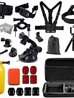 36 GoPro-ZubehörHalterung / Einbeinstativ / Stativ / Träger / Taschen / Schraube / Boje / Sog / Accessoires Kit / Handgriffe / Clip /