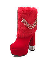 Women's Shoes   Heels / Platform / Fashion Boots Boots Outdoor / Office & Career / Casual Chunky Heel  &6867