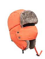 Chapka Hat / Fur Hat Ski Hat Women's / Men's Thermal / Warm Snowboard Polyester Black / Blue / OrangeSkiing / Camping / Hiking /