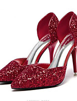 Women's Heels Summer Heels PU Casual Stiletto Heel Others Red / Silver / Gold