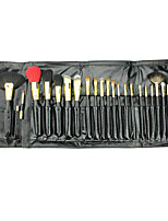 22 Makeup Brushes Set Goat Hair Full Coverage Wood Face ShangYang