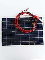 Zdm® 30w dc12v output 1.8a painel solar de silício monocristalino paneldc12-18v)