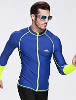 Спорт унисекс Дышащий Ультрафиолетовая устойчивость Защита от солнечных лучей Впитывает пот и влагу Эластан Чинлон Водолазный костюм