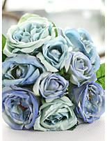 1 1 Ast Polyester Lotus Tisch-Blumen Künstliche Blumen 25CM