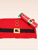 1pc Red Clothing Embroidery Christmas Towel for Bathroom Shower Home Indoor Supplies