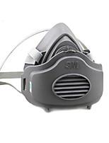 3m pulido polvo industrial a prueba de caucho especial de media máscara