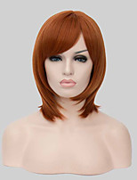 Beautiful Synthetic Hair Wig,Auburn Fashion Hair,Lady Wig,Short Hair,High-quality