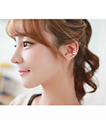 Earring Others Jewelry Women Adorable Daily Alloy 1 pair Red