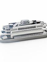 Jigsaw Puzzles Metal Puzzles Building Blocks DIY Toys Aircraft Carrier 1 Metal Silver Model & Building Toy