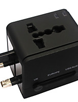 Multifunctional 2 USB Ports Fast Charge Universal Travel Conversion