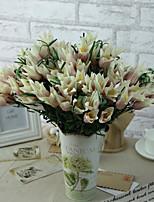 1pc 1 Ramo Poliéster / Plástico Outras Flor de Mesa Flores artificiais 14.9inch/38CM