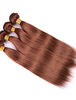 4Pcs/Lot Indian Virgin Hair Straight Hair Bundles Cheap Virgin Straight Hair Weaves #30 Indian Human Hair