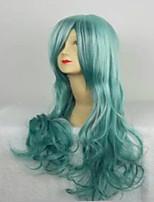 4 couleurs perruques cosplay perruques synthétiques ondulés harajuku ombre perruque longue lâche cheveux halloween perruque de fête