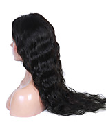 16-26 Inch Natural Black Color Natural Wavy Lace Wig U Part 100% Human Virgin Hair Lace Wig With Baby Hair