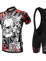 Sports Bike/Cycling Clothing Sets/Suits Men'sBreathable / High Breathability / Quick Dry / Front Zipper / Wearable