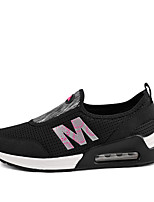 Women's Sneakers Summer Round Toe / Flats Tulle Outdoor / Office & Career / Athletic / Casual Flat Heel Others Black