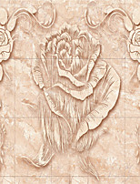 JAMMORY Wallpaper For Home Wall Covering Canvas Adhesive required Mural Marble Carving Patterns 3XL(14'7''*9'2'')