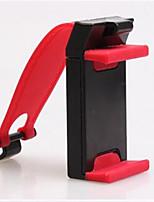 voiture Direction de volant de voiture de roue téléphone navigation porte-téléphone de voiture support pince 5-8.5cm rouge
