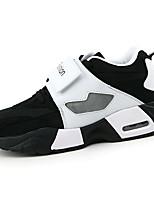 Unisex-Sneaker-Lässig-Leinwand-Flacher Absatz-Komfort-Schwarz / Rot / Weiß