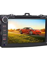 Android 5.1.1 Auto-DVD-Spieler für Toyota Corolla 2008 ~ 2011 Quad-Core-8-Zoll-1024 * 600 GPS-Navigationssystem Radio wifi