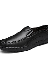 Men's Shoes Outdoor / Party & Evening / Athletic / Casual Suede / Patent Leather Loafers Black / Brown