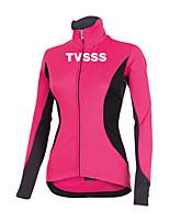 Sports Cycling Tops Women's Bike  Front Zipper / Ultra Light Fabric / Compression Long SleeveLYCRA® / Terylene