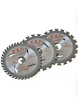 Uncoated Wood Cutting Alloy Blades(Specification:4×30T; Two From the Sale)