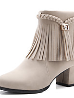 Women's Boots Winter Heels / Platform / Riding Boots /Bootie / Comfort / Combat Boots / Round ToePatent Leather /