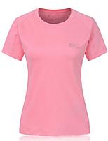 Running Sweatshirt Women's Short Sleeve Breathable / Quick Dry / Sweat-wicking