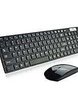 1200Dpi Ultrathin  Low Noise Wireless Office USB Keyboard & Mouse Suit