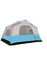 / Moistureproof / Waterproof / Breathability / Ultraviolet Resistant Oxford Two Rooms Tent Blue