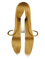 Cosplay Wigs Sword Art Online Asuna Yuuki Brown Long / Straight Anime Cosplay Wigs 95 CM Heat Resistant Fiber Male / Female