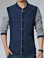 Spring coat jacket male color leisure slim jacket collar men Korean Baseball Jacket Mens tide