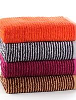 Ensemble de serviette de bain-Fil teint- en100% Coton-70*140cm(27