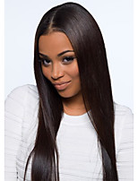 8A Grade U Part Lace Front Wigs Glueless Silky Straight Human Hair Wigs For Black Women Brazilian Human Hair Wig
