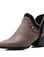Women's Shoes Fall / Winter Fashion Boots / Motorcycle Boots / Pointed Toe Boots Office & Career / Dress / Casual
