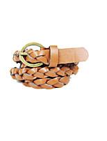 Women PU Waist Belt,Fashionable Jewelry / Casual Alloy Spring / Summer / Fall