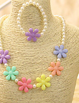 Girls Necklace,All Seasons Others Beige