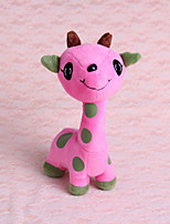 Dogs / Cats Toys Pet Toys Deer Plush Pink / Purple