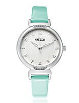 KEZZI®  delicacy lady quartz leather watch  1420